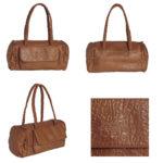 packshot maroquinerie- photos de maroquinerie sac portefeuille marron