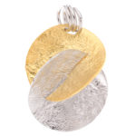 packshot bijoux - photos de bijoux acier doré pendentif