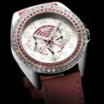 packshot montres - photos de montres banniere fond noir guess