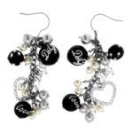 packshot bijoux - photos de bijoux boucle d'oreille acier perles D&G