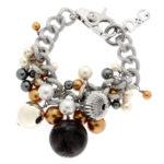 packshot bijoux - photos de bijoux bracelet acier perles D&G