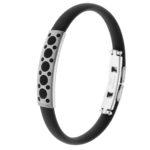 packshot bijoux - photos de bijoux bracelet quiksilver noir 2