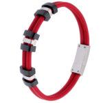 packshot bijoux - photos de bijoux bracelet rouge police
