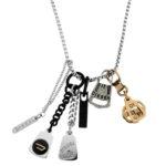 packshot bijoux - photos de bijoux zoom collier acier diesel