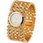 packshot montres - photos de montres dorée
