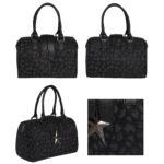 packshot maroquinerie- photos de maroquinerie sac portefeuille noir
